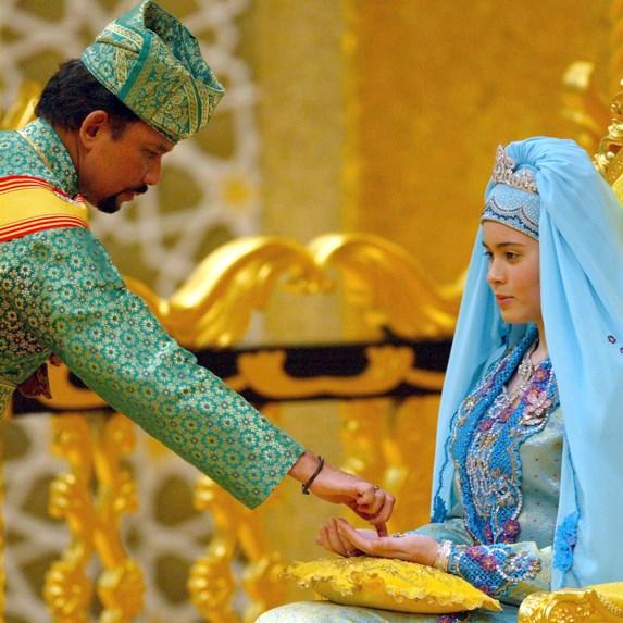 Crown Prince Al-Muhtadee Billah Bolkiah of Brunei and Princess Sarah details