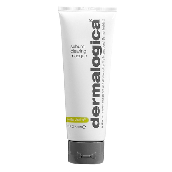 A white and grey tube of skincare product on a white background.