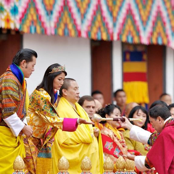 King Jigme Khesar Namgyel Wangchuck and Queen Ashi Jetsun Pema