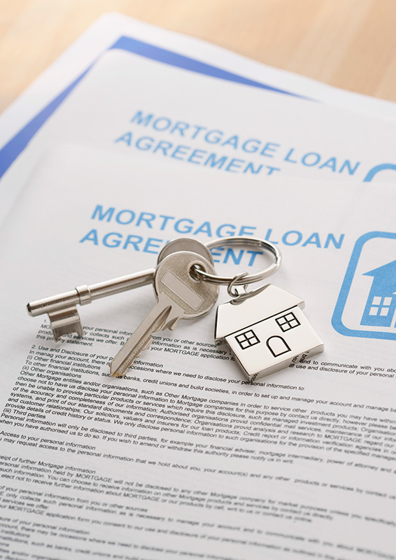 Mortgages in Canada are less expensive