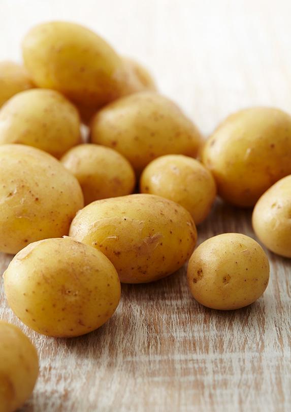 Potatoes uncooked