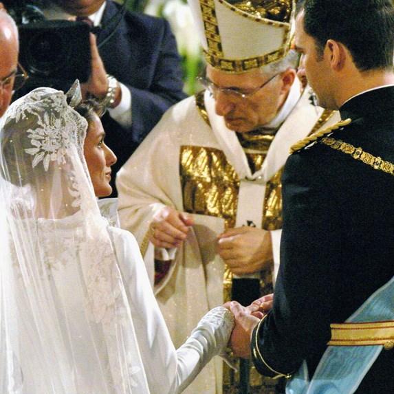 Prince Felipe of Asturias and Letizia Ortiz Rocasolano details