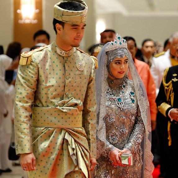 Princess Hafizah Sururul Bolkiah of Brunei and Pengiran Haji Muhammad Ruzaini