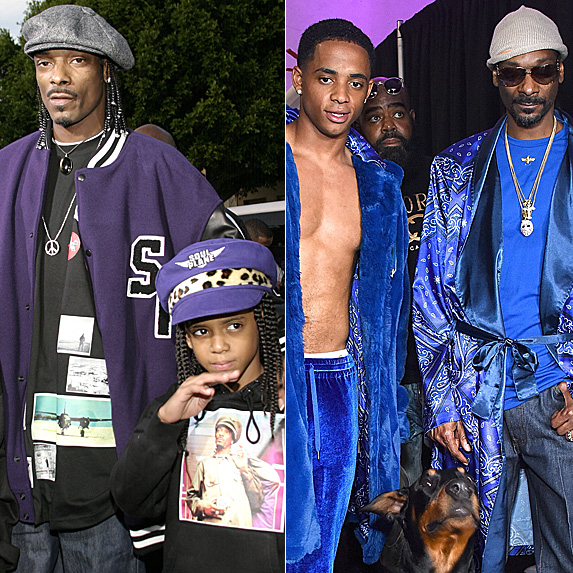 Cordell Broadus and Snoop Dogg
