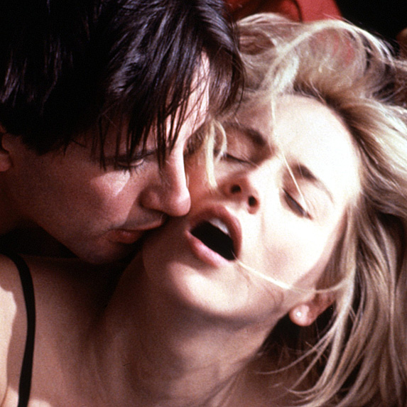 William Baldwin and Sharon Stone