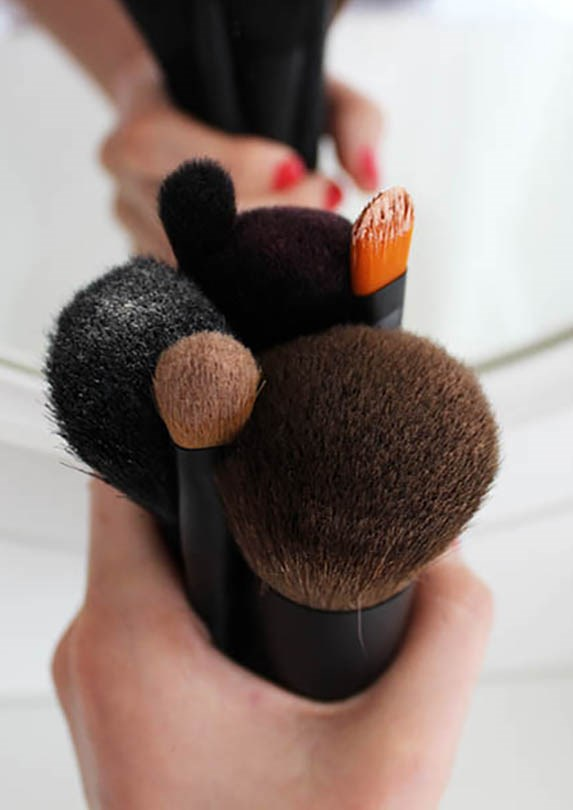 What You Need to Clean Makeup Brushes