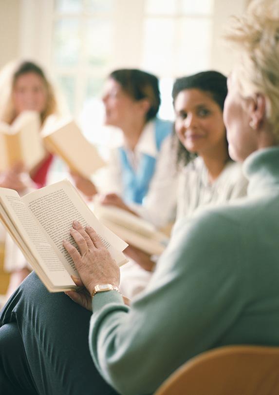Book club to meet people