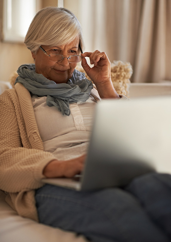 Retiree working on book