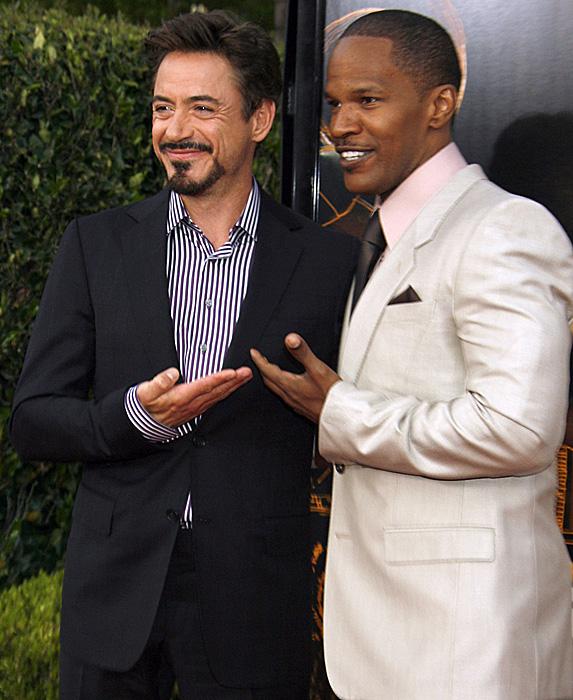 Robert Downey Jr. and Jamie Foxx