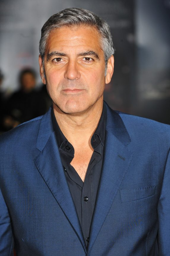 george clooney worst fake tans