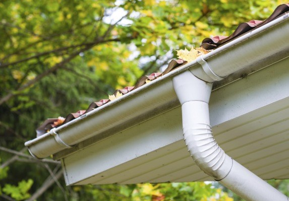 what are eaves troughs