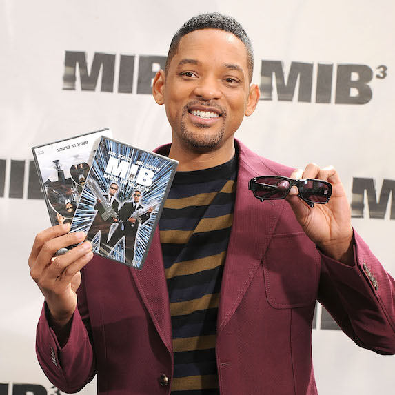 Will Smith at premiere of Men In Black 3