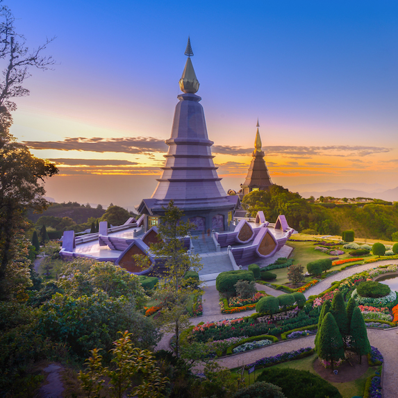 Temple outside Chiang Mai, Thailand