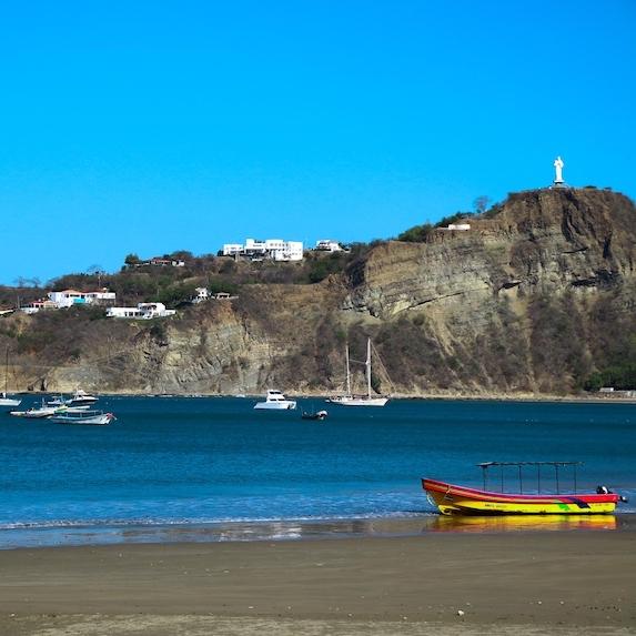 waterfront in San Juan Del Sur, Nicaragua