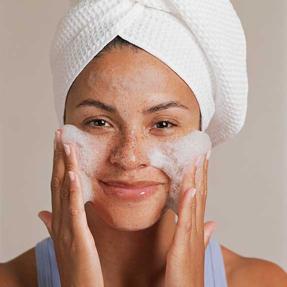acne mistakes overcleansing with drying ingredients
