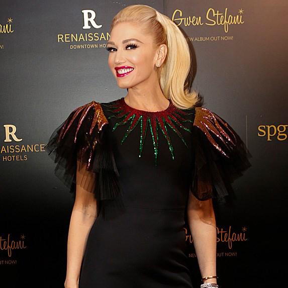 Gwen Stefani on red carpet