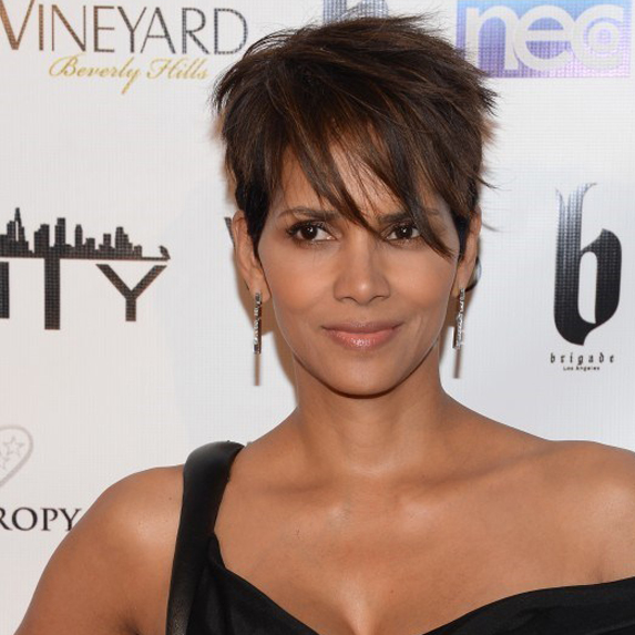 Halle Berry on red carpet