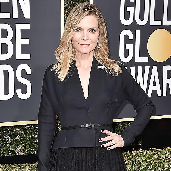 Michelle Pfeiffer on red carpet