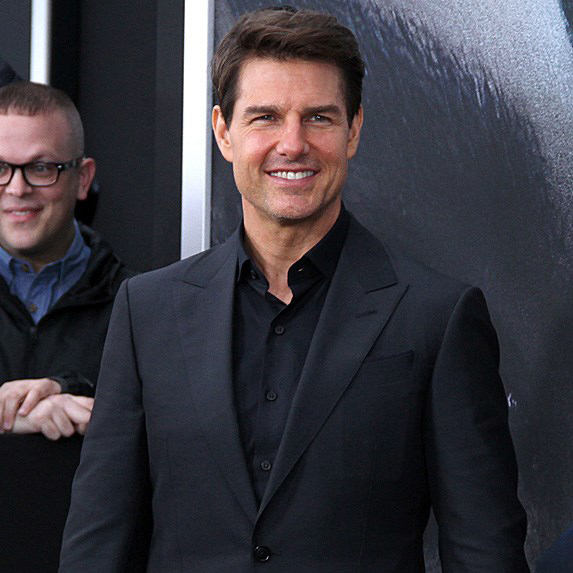Tom Cruise on red carpet