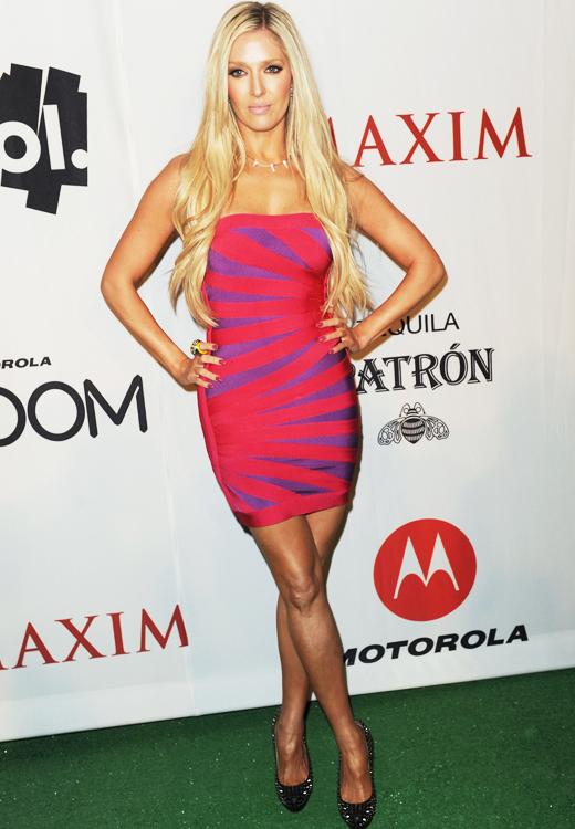 Erika Jayne Girardi at a Maxim party 2011