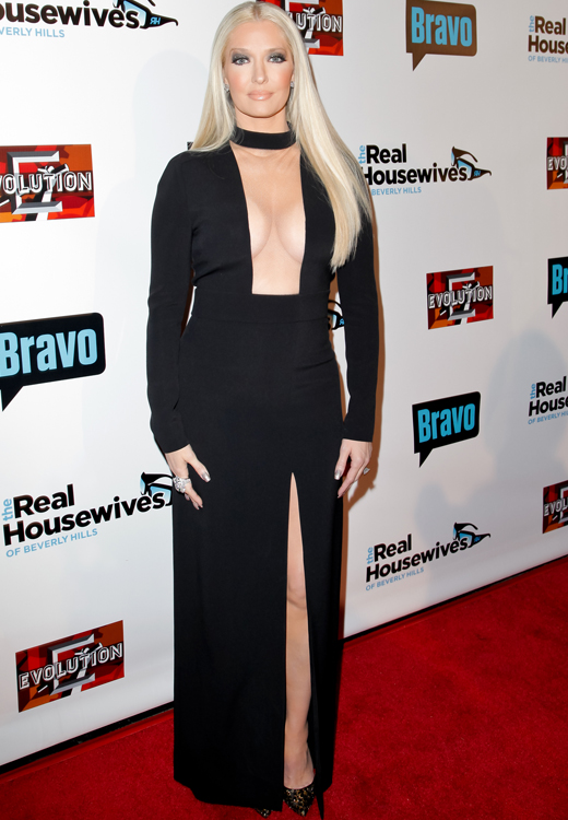 Erika Jayne on the red carpet as a Real Housewife