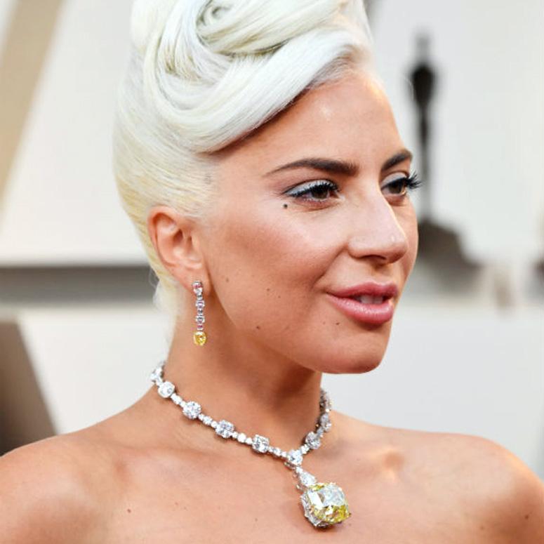 Lady Gaga Oscars jewellery