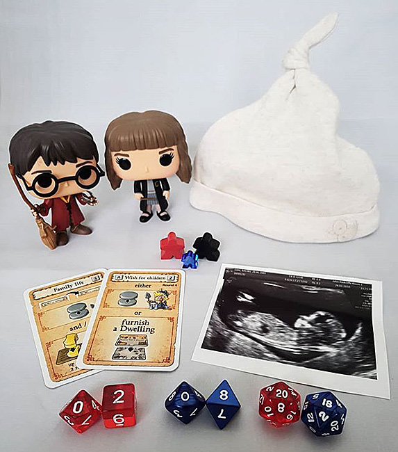 Pregnant take on Dungeons & Dragons and Harry Potter