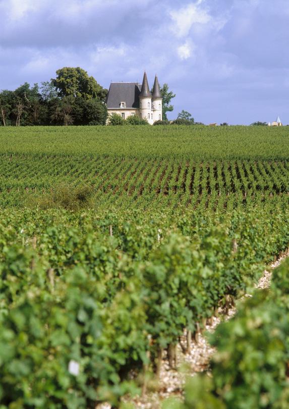 Bordeaux, France in June