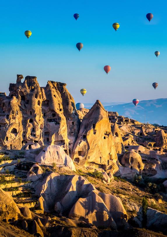 Cappadocia, Turkey in June