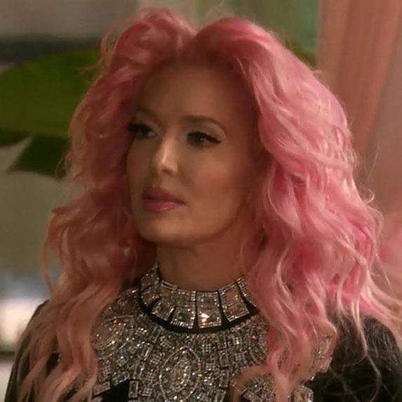 Erika Jayne's Pink Hair