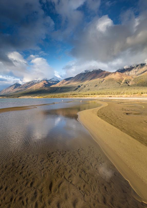 Kluane National Park and Reserve, Yukon in June