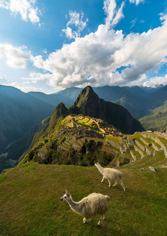 Machu Picchu, Peru in June