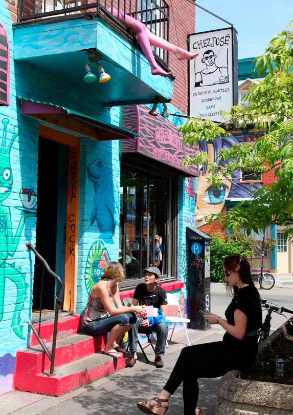 Montreal, Quebec in June