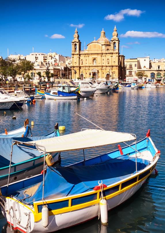 Valletta, Malta in June