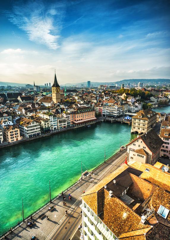 Zurich, Switzerland most expensive