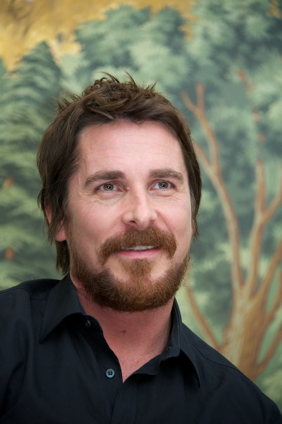Christian Bale with beard