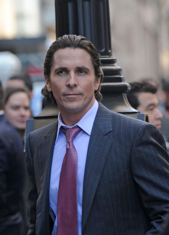 Christian Bale without beard