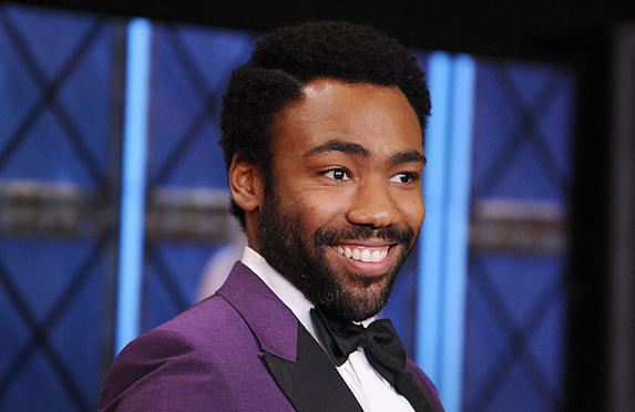 Donald Glover with beard