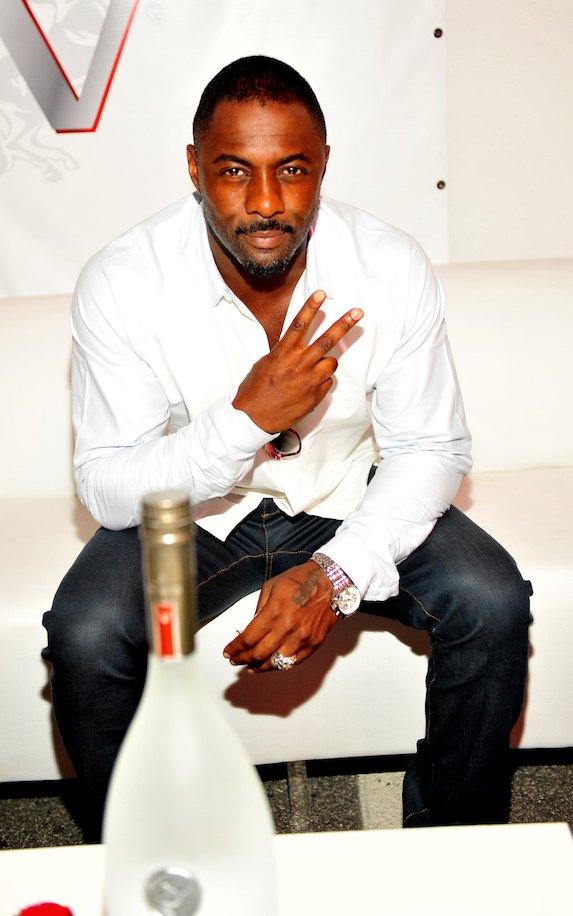 Idris Elba goatee