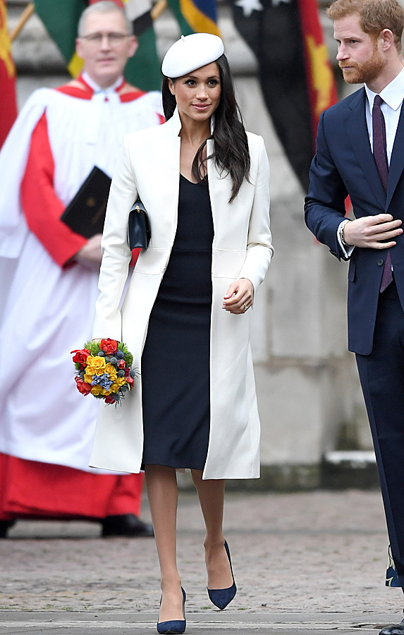 Meghan Markle and Prince Harry on Commonwealth Day