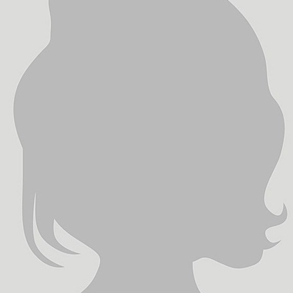 Stock illustration of a woman's head in silhouette