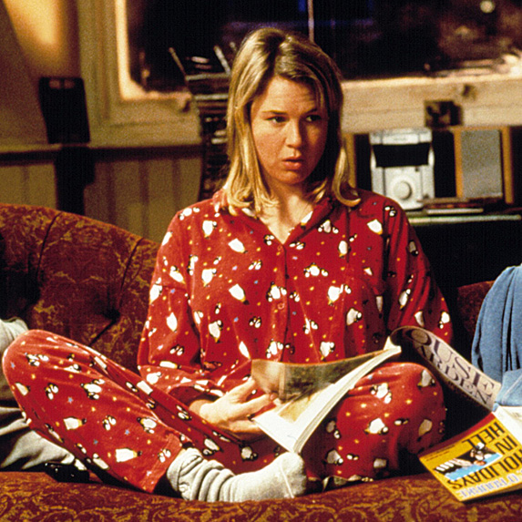 Renée Zellweger in Bridget Jones's Diary