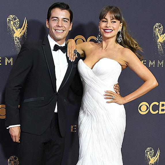 Sofia Vergara and son Manolo