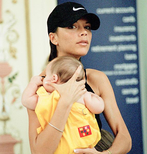 Victoria Beckham and son Brooklyn