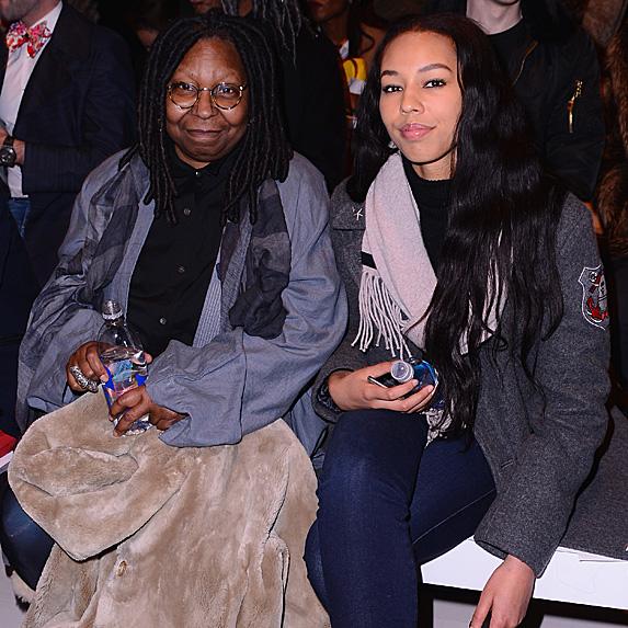 Whoopi Goldberg and granddaughter Jerzey