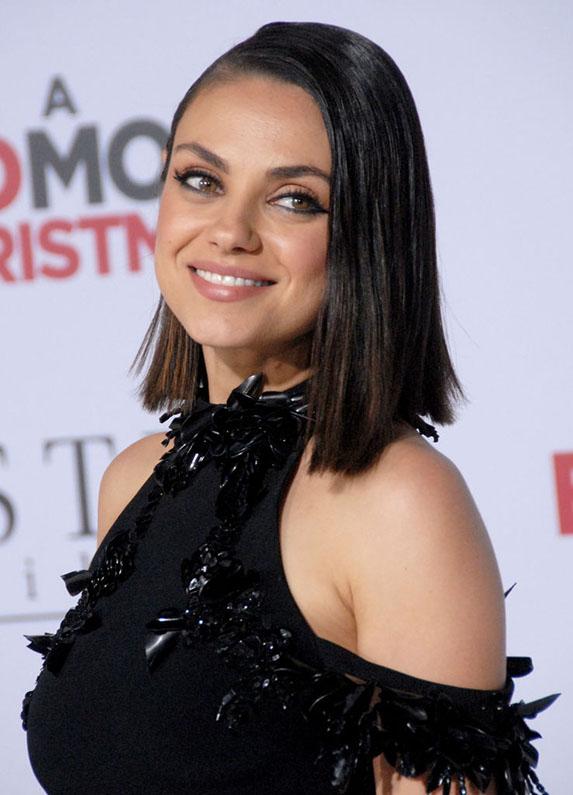 Mila Kunis' ruby and diamond facial