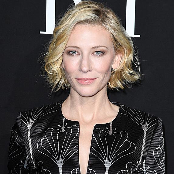 Cate Blanchett's penis facial