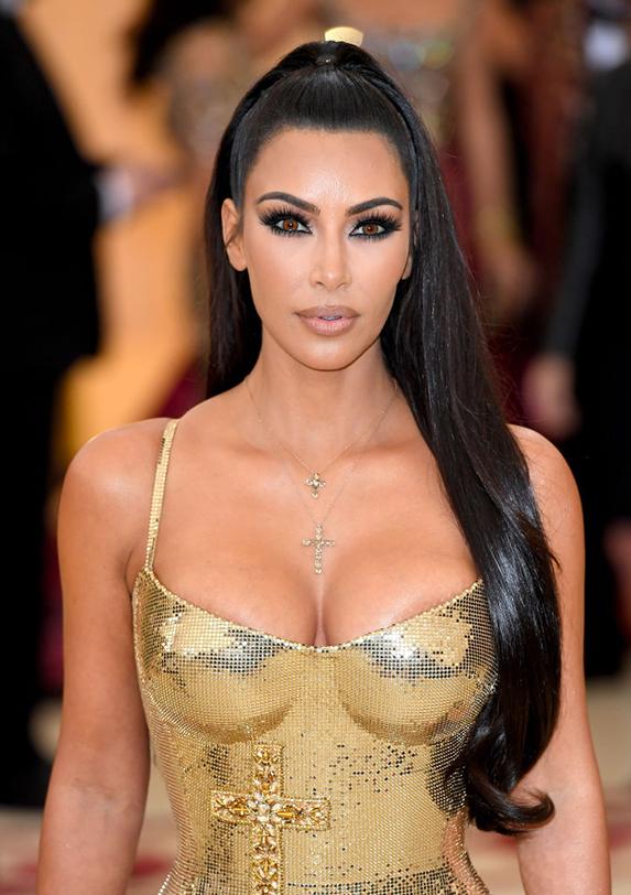 Kim Kardashian's vampire facelift