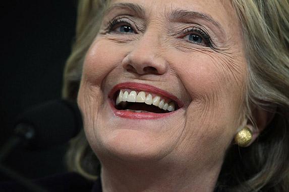 Hillary Clinton's Jalapeño Peppers