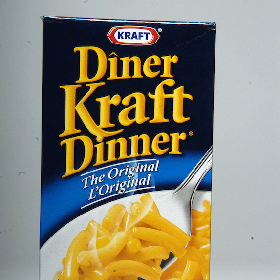 Box of Kraft Dinner